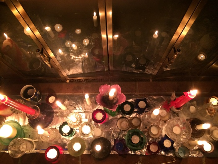 New Years Day Candles
