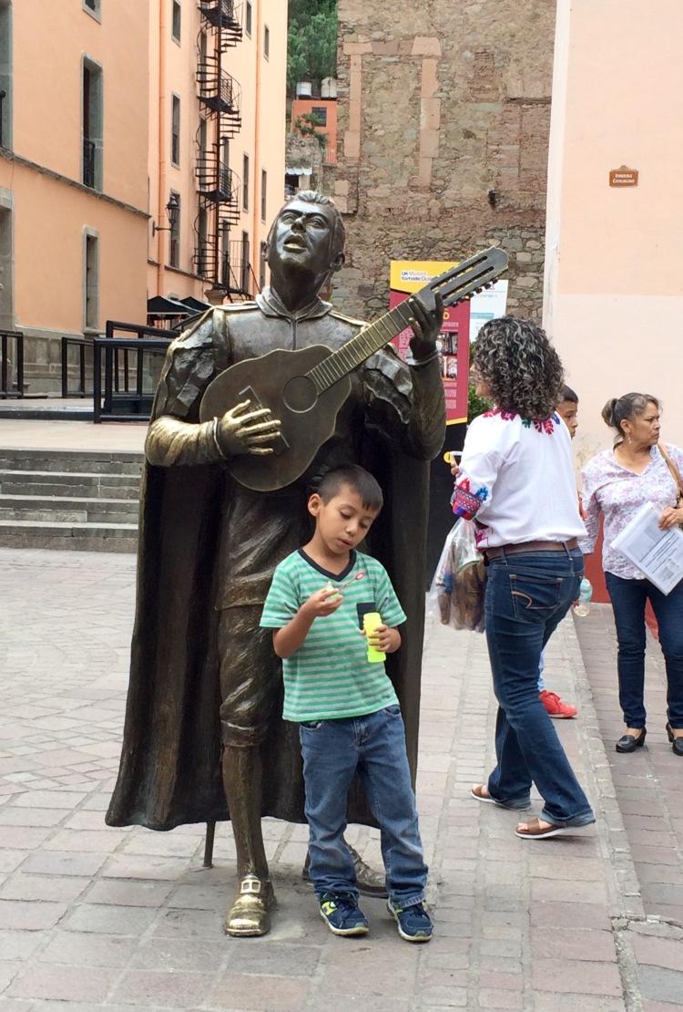 Boy and Cantador