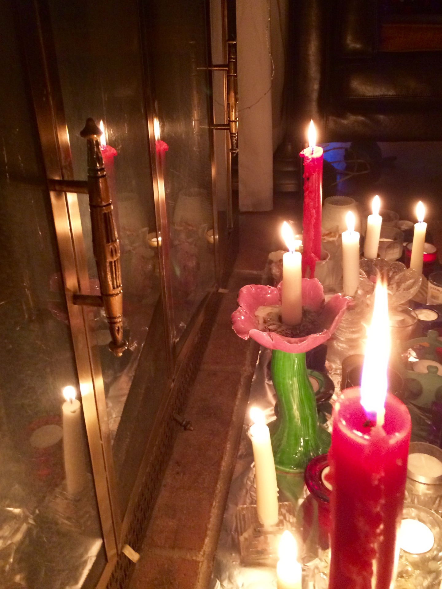 Candles on the Harth