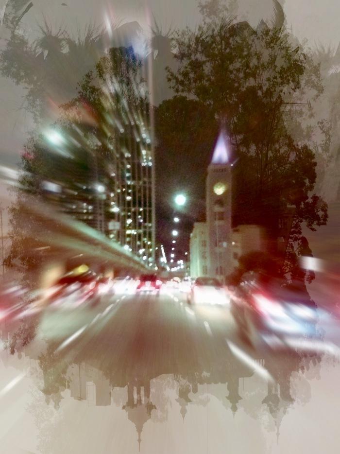 San Francisco Skyline Hipstamatic edit