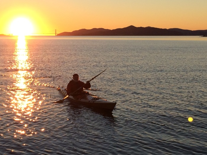 Solitary Kayaker