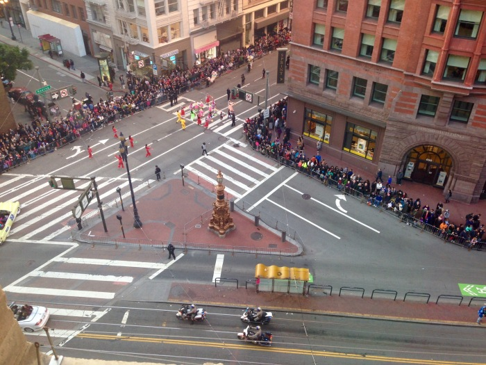 My Daughter's Photo of SF's Chinese New Year Parade