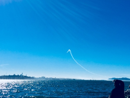 Blue Angel above SFBay