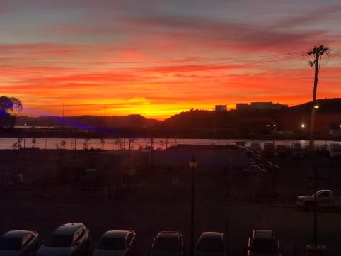 Last Night's Sunset