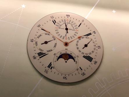 Year round clock