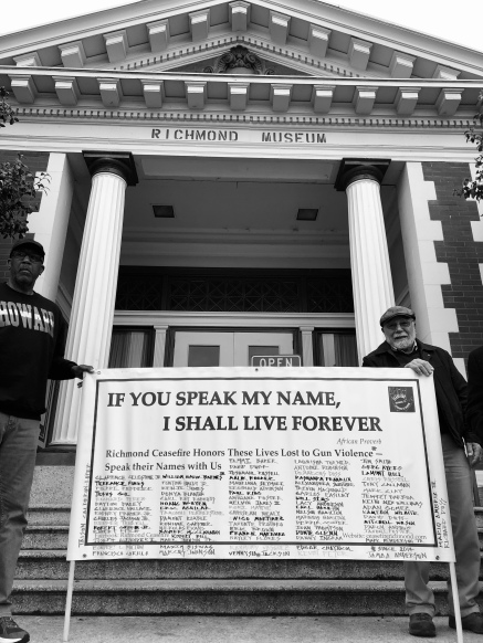 Names of People who lost their lives to gun violence in Richmond