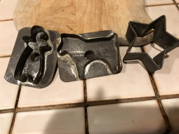 My Father made thes Cooke cutters in shop class