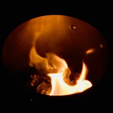 Winter solstice cauldron