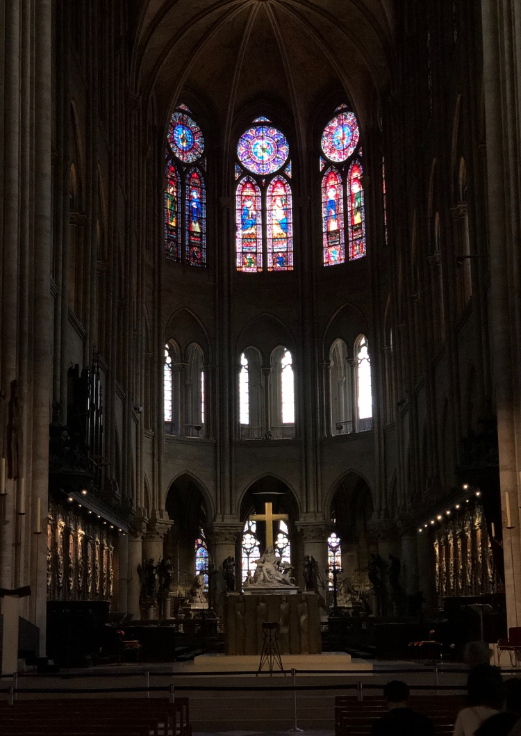 Nave of Notre Dame