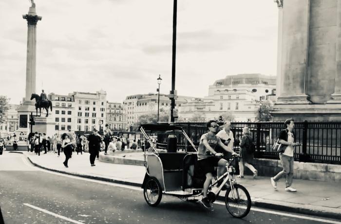 Pedi Cab London