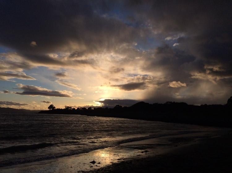 Albany Bulb sunset