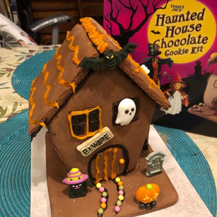 Haunted chocolate house