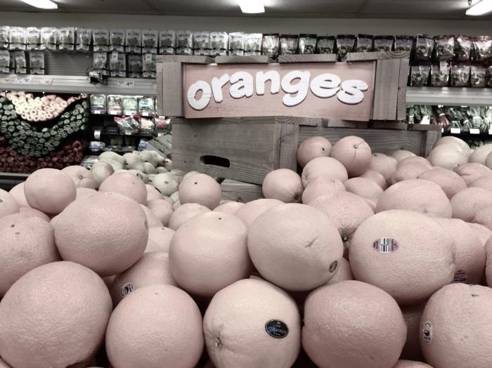 Stacks of Oranges