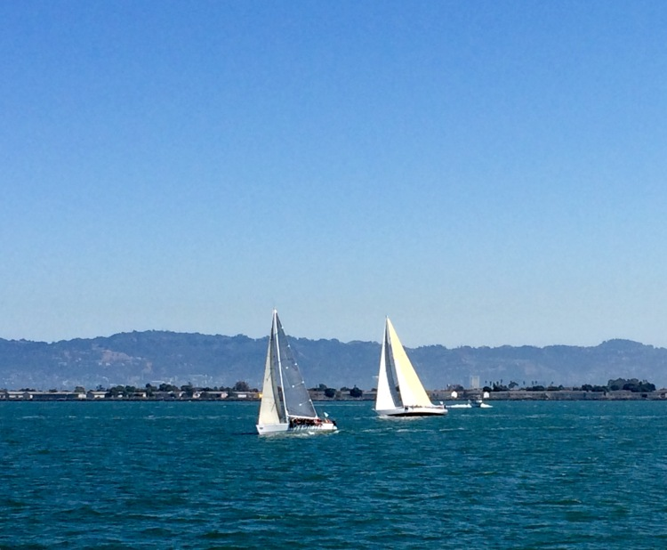 Boats On The SF Bay