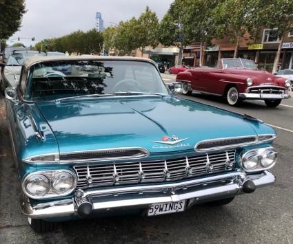 2 classic cars