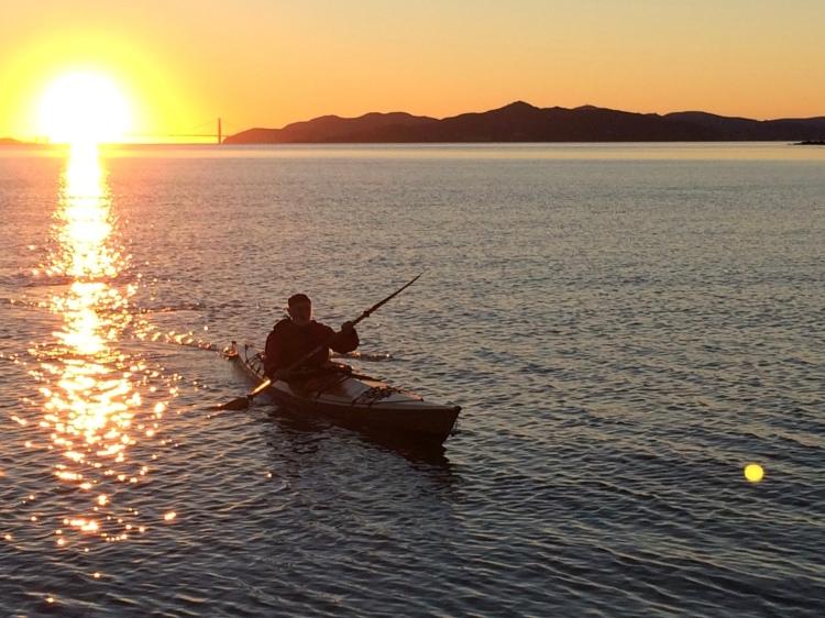 San Francisco Bay New Yearrs Day