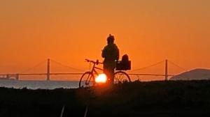 Bike and gg Bridge