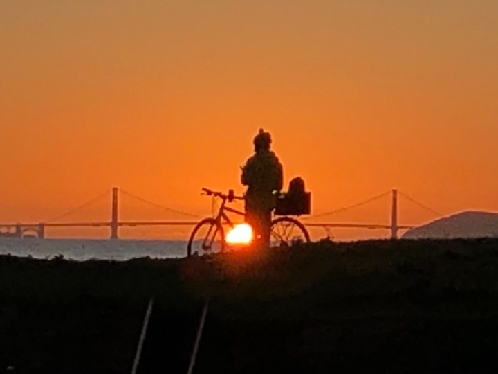 Bike and gg Bridge