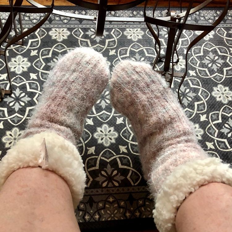 Grey socks