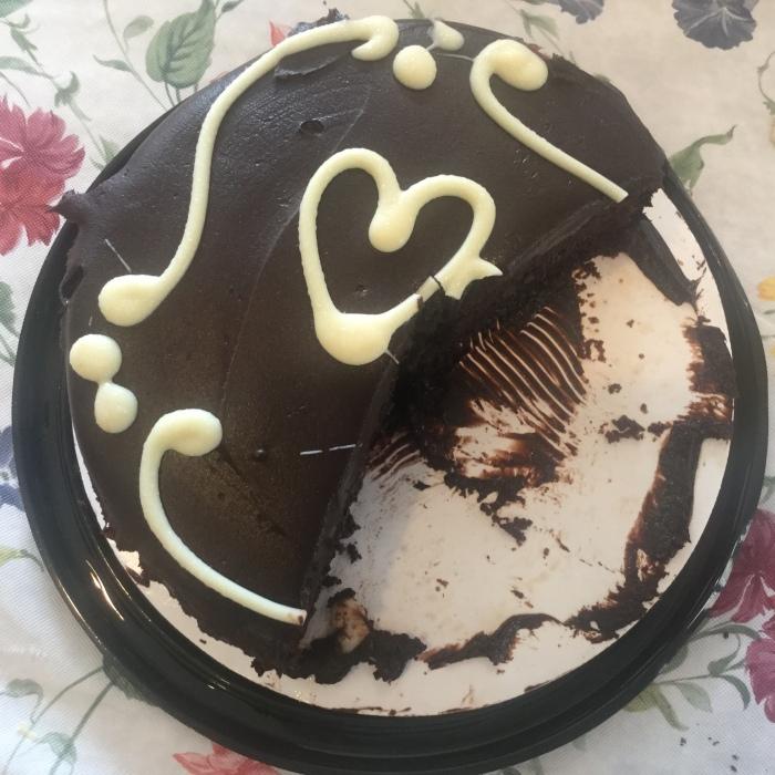 Half cake