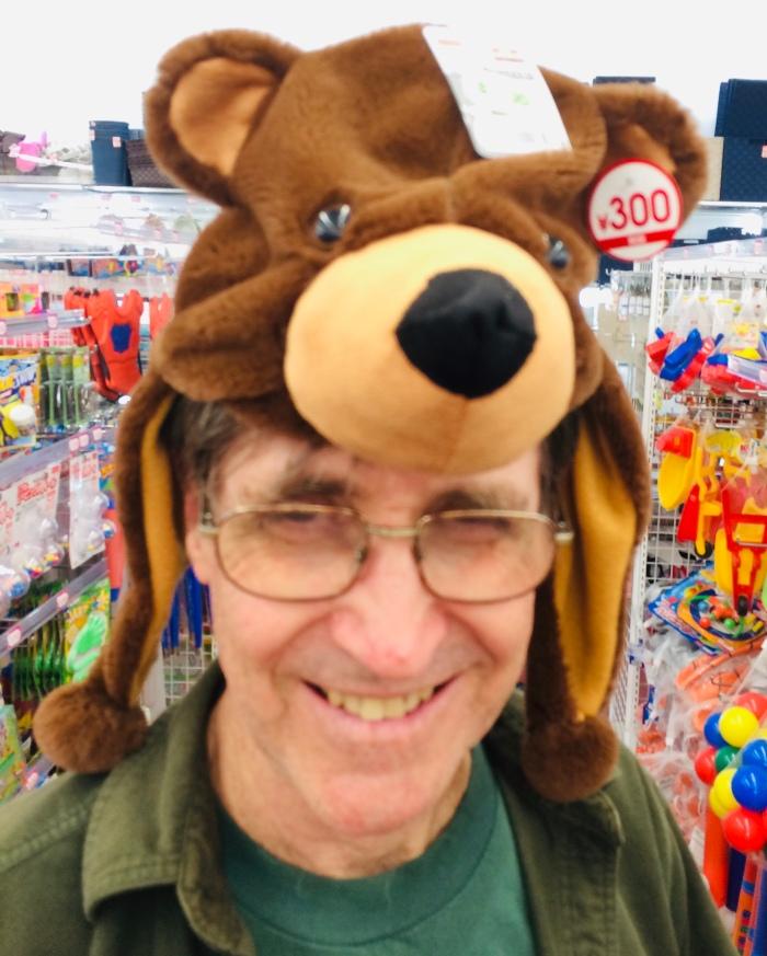 Jim In Bear Hat