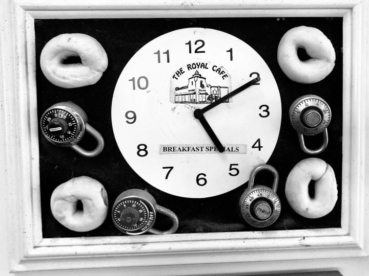 Lock and clock