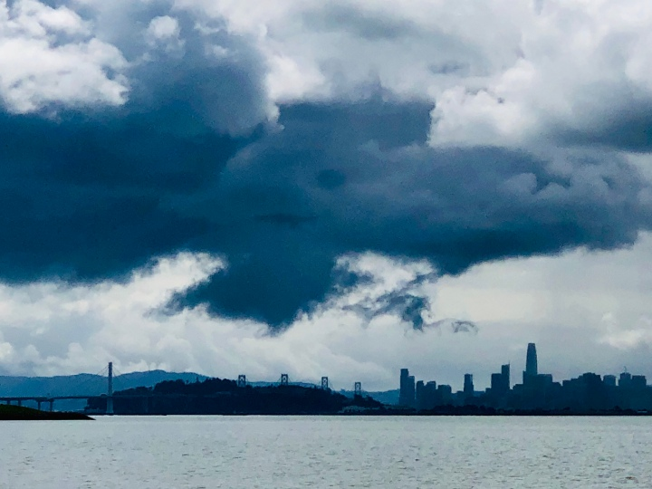 Cloud over Sf