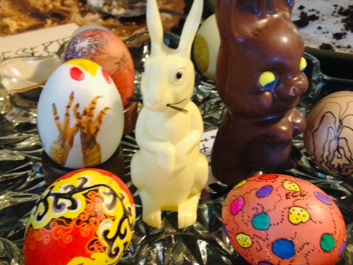 Eggs and bunnies