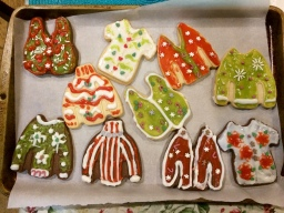 Tasteless Ugly Sweater Cookies