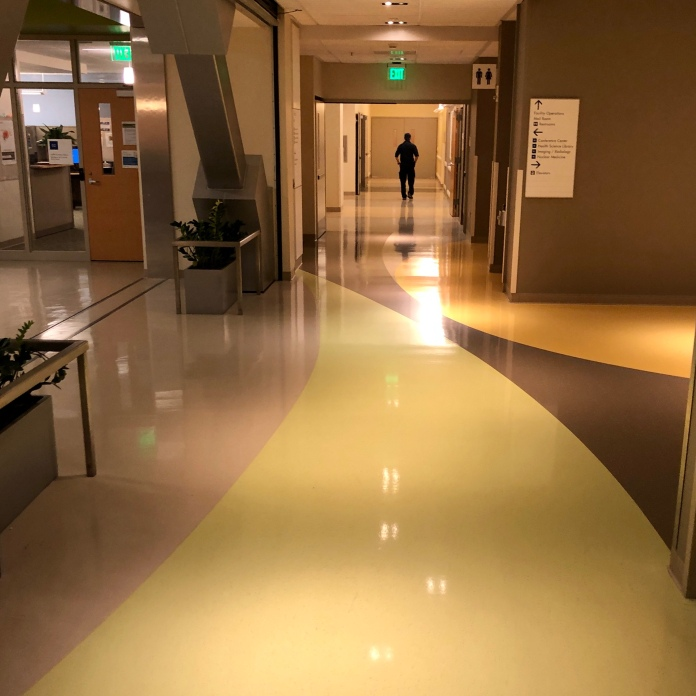 Hospital don't want to go here