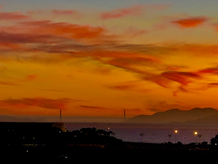 Sunset on SFBay