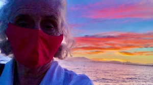 Selfie sunset