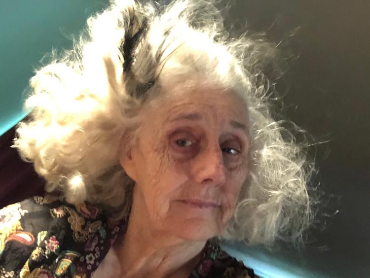 Tangled hair